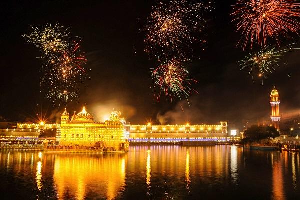 Diwali Celebration at Golden Temple