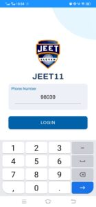 Enter your mobile number and name.