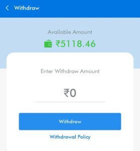 3 Enter the amount you want to withdraw